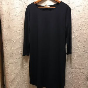 H&M Navy Blue Long Sleeve Dress size M